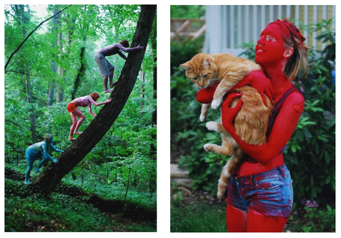 "Lauren Poor, ""Colorful People"", May 2010"