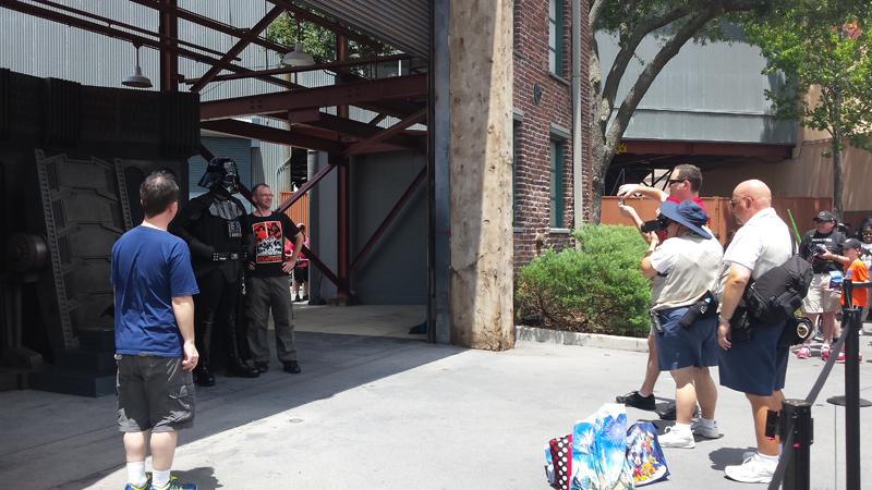 Star Wars Weekends, 2015. Image by author.