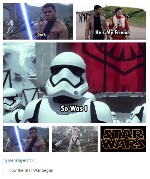 star-wars-the-force-awakens-stormtrooper-fn-2199-memes-09 ... http://burnettski92.tumblr.com/post/136319829327/hymenslayer717-how-the-star-war-began