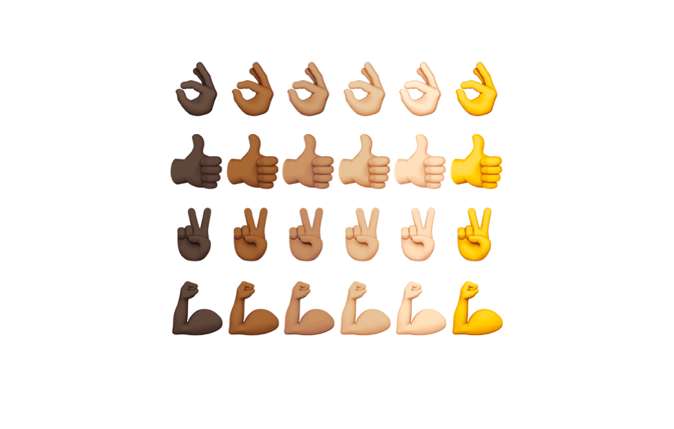 👍🏿👎🏻: Emojis, Digital Blackface, and White Identity